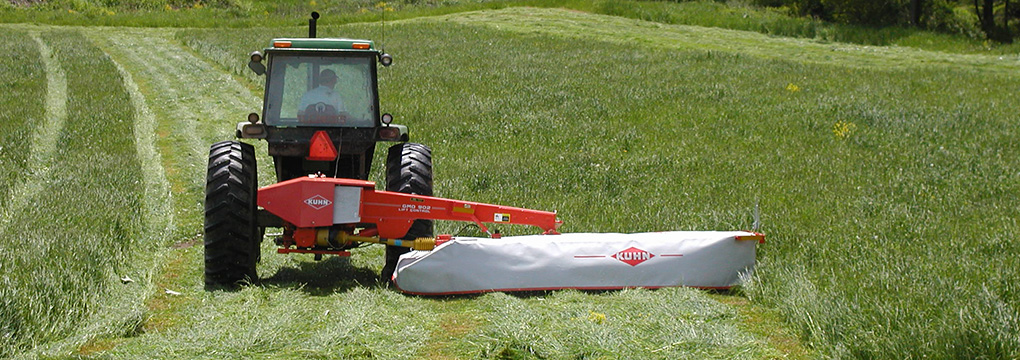 Advanced Ag Systems tractor in the field